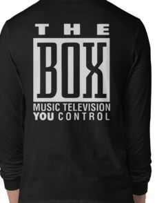 The Box Music Television You Control Long Sleeve T-Shirt