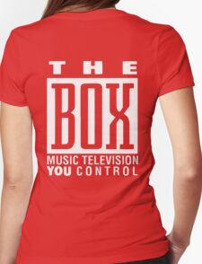 The Box Music Television You Control Womens Fitted T-Shirt