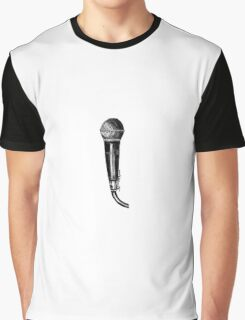 Zayn Microphone Tattoo Graphic T-Shirt