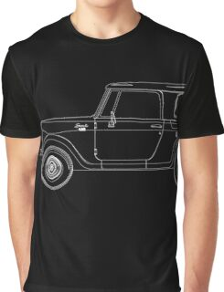 International Harvester Scout 800 Outline Graphic T-Shirt
