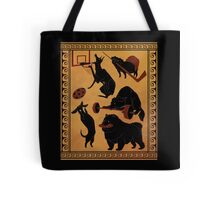 Dogs and Olympics Tote Bag