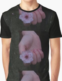 Flower Beds In Our Hands Graphic T-Shirt