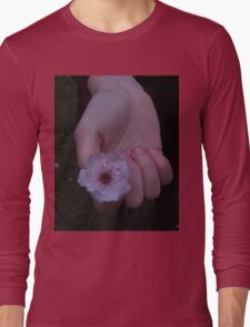 Flower Beds In Our Hands Long Sleeve T-Shirt