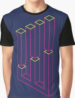 Impossible Shapes: Columns Graphic T-Shirt