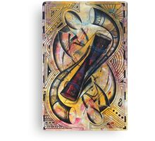 Upside Down Pembe & Ngoma Instruments Canvas Print