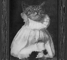 """""""Pussy-Cat Mew"""" - Vintage Children's Illustration by S.L. Revoy"""