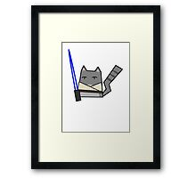 Skywalker Cat Framed Print