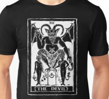 The Devil Tarot card by Shayne of the Dead Unisex T-Shirt