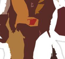Wolverine Brown & Tan Sticker