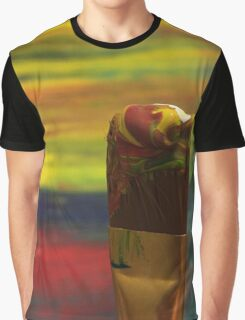 Impressionist Brush Graphic T-Shirt