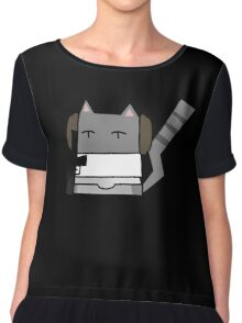 Leia Cat Chiffon Top