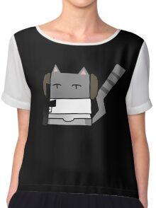 Leia Cat Chiffon Top
