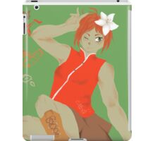 Oolong Tea Girl iPad Case/Skin