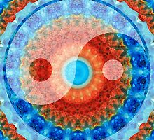 Ideal Balance Yin and Yang by Sharon Cummings by Sharon Cummings