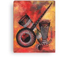 Music Instrument Canvas Print