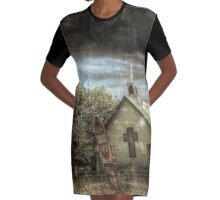 Contradictions Graphic T-Shirt Dress