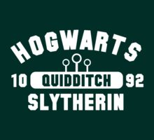 Quidditch - Slytherin by cyaneyed