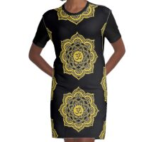 Sacred Geometry for your daily life Graphic T-Shirt Dress