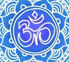 Blues Ohm Mandala Sticker