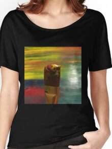 Impressionist Brush Women's Relaxed Fit T-Shirt
