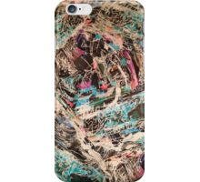 Maze of shapes iPhone Case/Skin