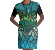 Ediemagic Ocean Graphic T-Shirt Dress