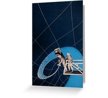 Into the Black Hole Greeting Card