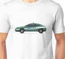 Fiat Coupe police car Unisex T-Shirt
