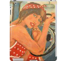Rockabilly girl iPad Case/Skin