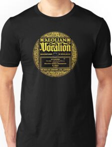 78 rpm Vintage label Aeolian Vocation! Unisex T-Shirt