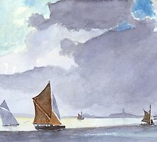 Going Home after Hilder, by John Rees by HurstPainters