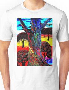 """TREE OF LIFE"" Psychedelic Art Deco Print Unisex T-Shirt"