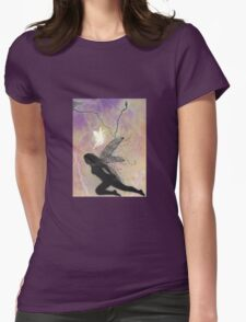 Epic Faerie Battle Womens Fitted T-Shirt