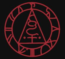 The Seal of Metatron (Red) Kids Clothes