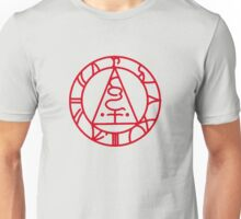 The Seal of Metatron (Red) Unisex T-Shirt
