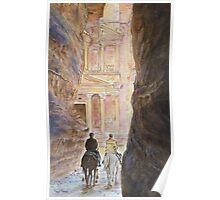 Petra, by Paul Sagoo Poster
