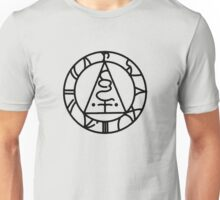 The Seal of Metatron (Black) Unisex T-Shirt