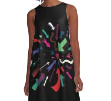 Arrows to your Heart A-Line Dress