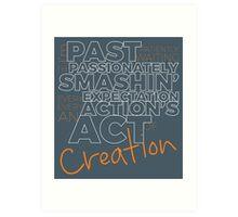 Creation! Art Print