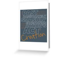 Creation! Greeting Card
