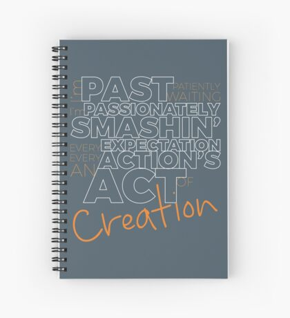 Creation! Spiral Notebook