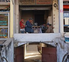 Indian Tailor by thebrada