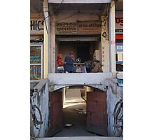 Indian Tailor Photographic Print