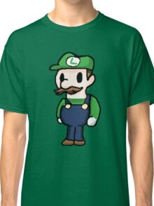 Luigi pixelated  Classic T-Shirt