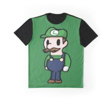 Luigi pixelated  Graphic T-Shirt