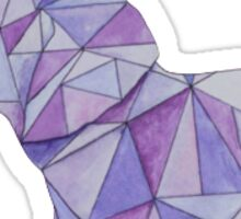 purple elephant  Sticker