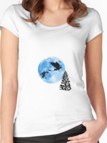 N.F. - The Night Fury Women's Fitted Scoop T-Shirt