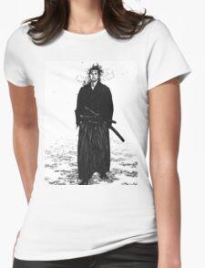 Miyamoto Musashi Womens Fitted T-Shirt