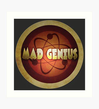 Logo - Mad Genius Art Print