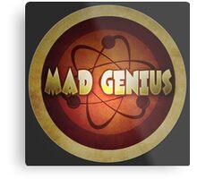 Logo - Mad Genius Metal Print